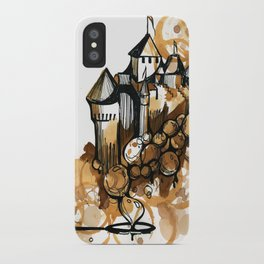 Castle float iPhone Case