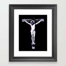 3d Jesus Framed Art Print