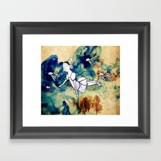 I'll fly with you Framed Art Print