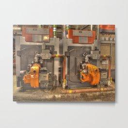 Boilers Metal Print