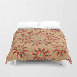 Beautiful day lily kaleidoscope Duvet Cover