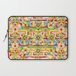 Rainbow Carousel Starburst Laptop Sleeve