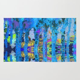 Peeking Through The Pursuit of Happiness a Mesmerizing Experience by annmariescreations Rug