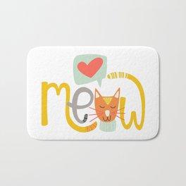 Meow Love Bath Mat