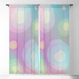 Abstract Gradient No. 9 Blackout Curtain