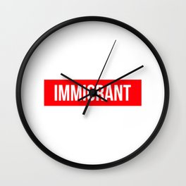 Immigrant Wall Clock