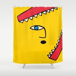 Frightening Shower Curtain