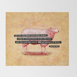 Like Sheep Throw Blanket