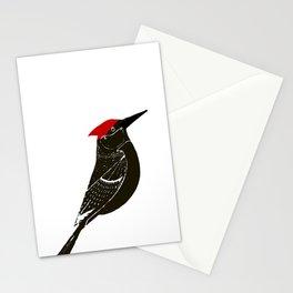 Birds- wood pecker Stationery Cards