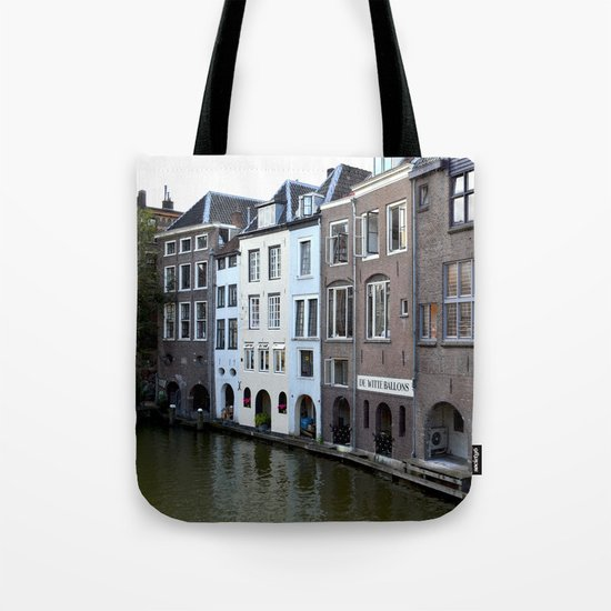 Water and bricks Tote Bag