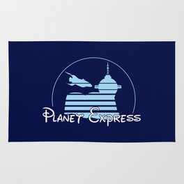 Planet Express Rug