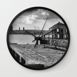 Neglected History Wall Clock