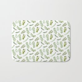 Forest in the Fall Pattern Bath Mat