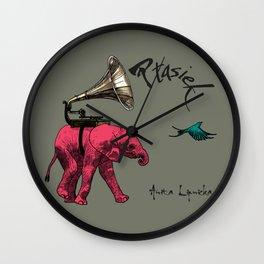 Ptasiek Anita Lipnicka 1 Wall Clock