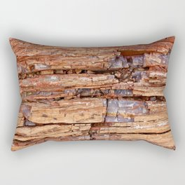 Geometric Crystal Rock Rectangular Pillow