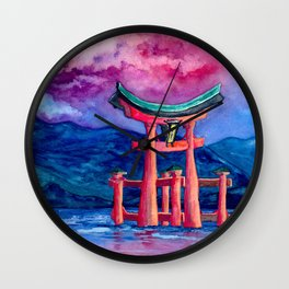 Tōri-iru Wall Clock