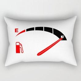 A Full Fuel Tank Rectangular Pillow