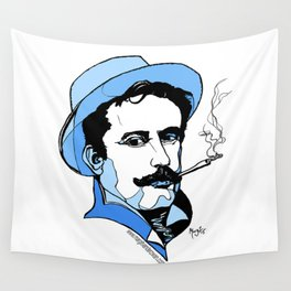 Giacomo Puccini Italian Composer Wall Tapestry