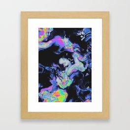 SIMPLE WORDS Framed Art Print