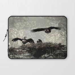 Vultures Building The Nest Laptop Sleeve