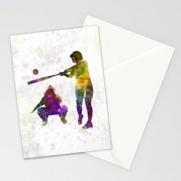 baseball players 02 Stationery Cards