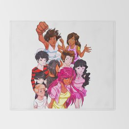 Guardians Group Throw Blanket