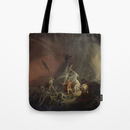 Aeneas and the Sibyl Tote Bag