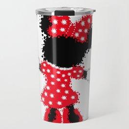 Minnie Mouse Paint Splat Magic Travel Mug