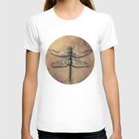 dragonfly T-shirts featuring Dragonfly  by Werk of Art