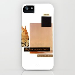 It Starts With A Dream iPhone Case