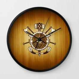 d20 Viking Warrior Wall Clock