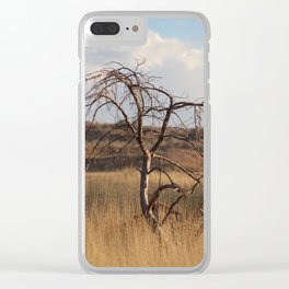 Laid Bare in Utah Clear iPhone Case