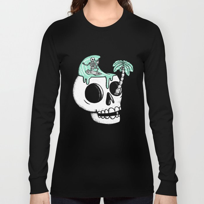 Surfer Thoughts Long Sleeve T-shirt