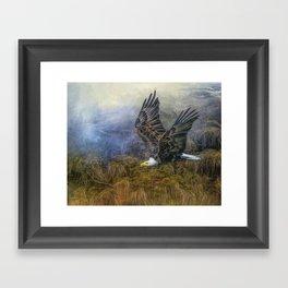 Bald Eagle Country Framed Art Print