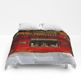 Martin's Grill NYC Comforters