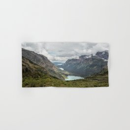 Three Lakes Viewed from Grinnell Glacier Hand & Bath Towel