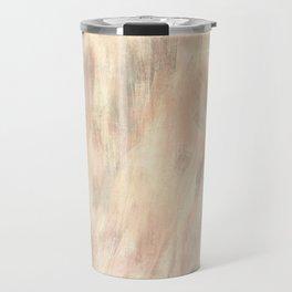 Bisque salmon grey batic look Travel Mug