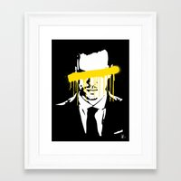 moriarty Framed Art Prints featuring Moriarty by tillieke