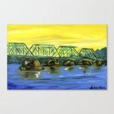New Hope-Lambertville Bridge Canvas Print