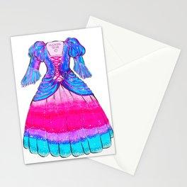 Galaxy Lolita Dress Stationery Cards