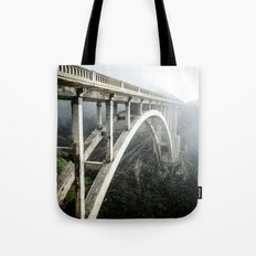 Bixby Canyon Bridge Tote Bag