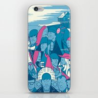 eternal sunshine of the spotless mind iPhone & iPod Skins featuring Eternal Sunshine of the Spotless Mind by Ale Giorgini