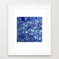 constellations Framed Art Prints featuring constellations by Sandra Arduini