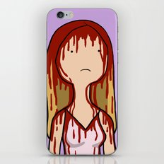 Adventure Time with Carrie White iPhone & iPod Skin