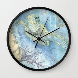 West Palm Beach Turtle Wall Clock