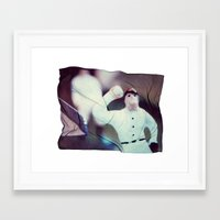 baseball Framed Art Prints featuring Baseball by Tyler Hewitt
