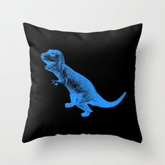 Vintage Toy Dinosaur  |  Tyrannosaurus Throw Pillow