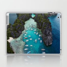 Island hopping in the Philippines Laptop & iPad Skin