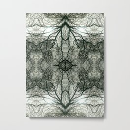 Interlace Metal Print