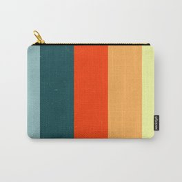 Striped Colors Carry-All Pouch